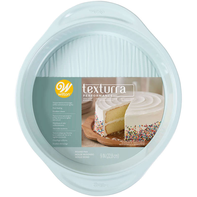 Texturra Performance Non-Stick Bakeware Round Pan, 9-Inch image number 1