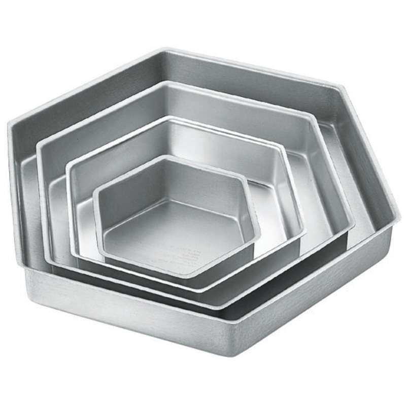 Stacked Hexagon Cake Pans image number 2
