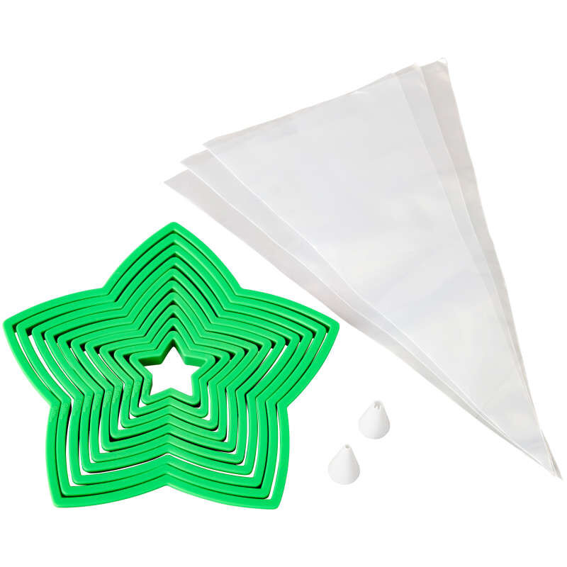 Christmas Cookie Tree Cutter Kit, 15-Piece image number 0