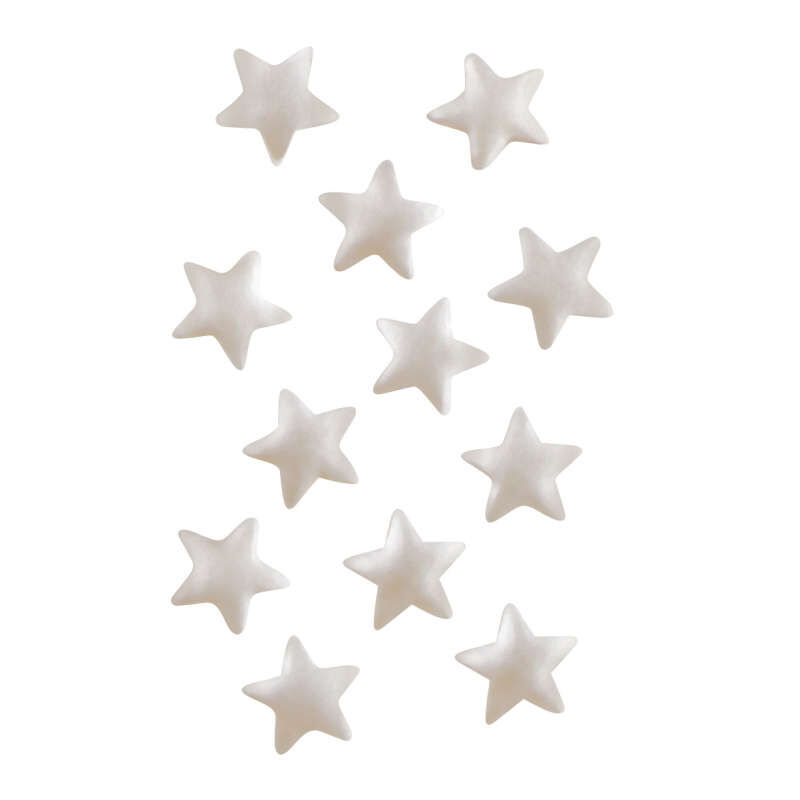 Edible Glitter Silver Stars, 0.04 oz. image number 3