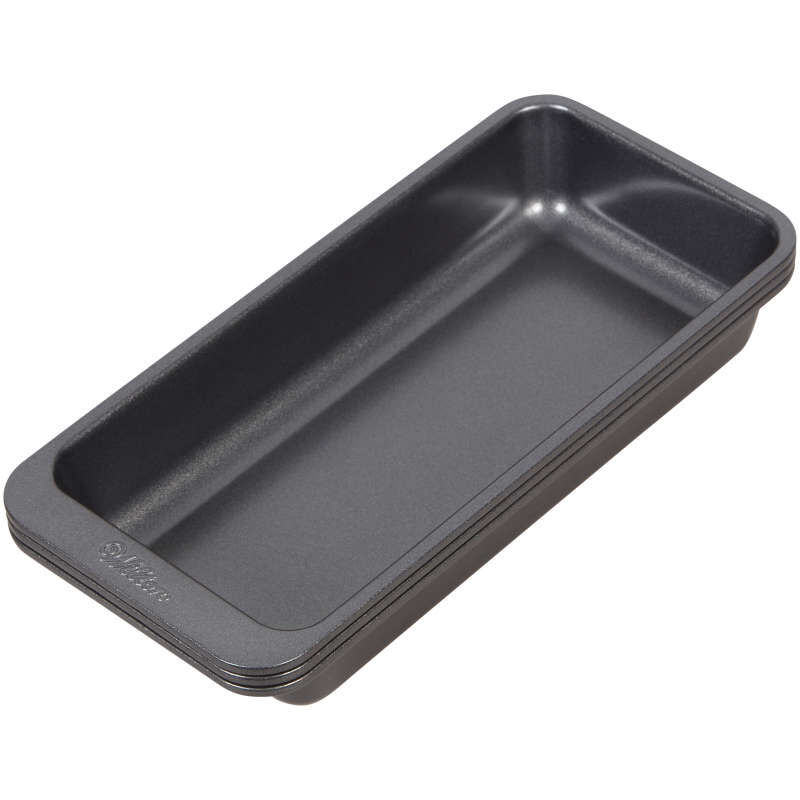 Perfect Results 8 x 4-Inch Premium Non-Stick Baking Pan Set, 3-Piece image number 1