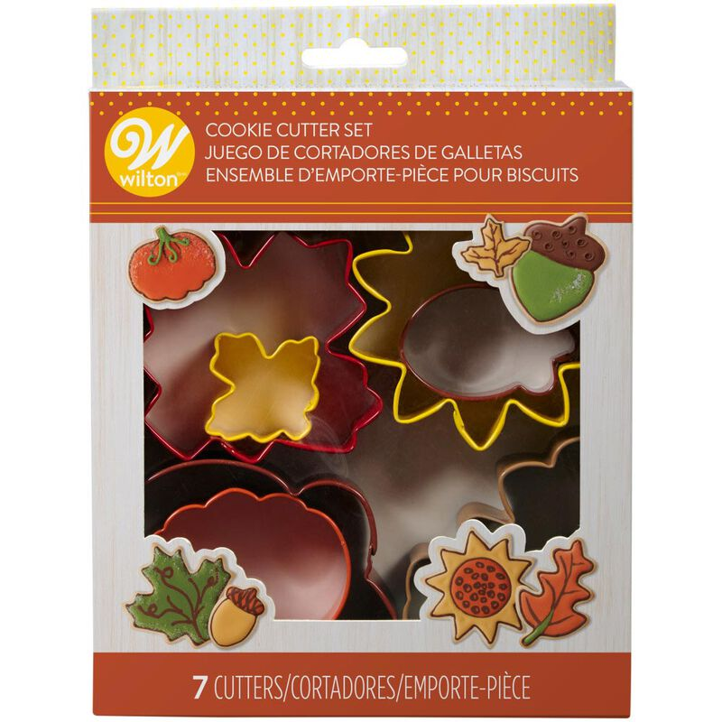 Fall Metal Cookie Cutter Set, 7-Piece image number 2