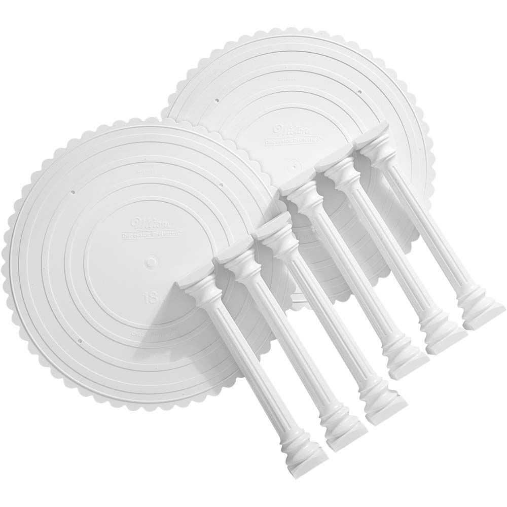 Roman Column and Plate Set  sc 1 st  Wilton & Roman Column and Plate Set | Wilton