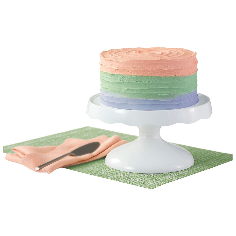 Removable Cake Plate Pedestal  sc 1 st  Wilton & 2-in-1 Cake Stand and Serving Plate | Wilton
