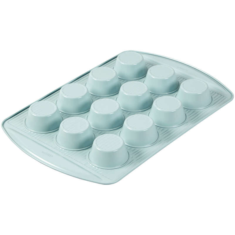 Texturra Performance Non-Stick Bakeware Muffin Pan, 12-Cup image number 3