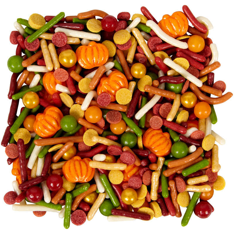 Fall Pumpkins and Jimmies Sprinkles Mix, 4.12 oz. image number 2
