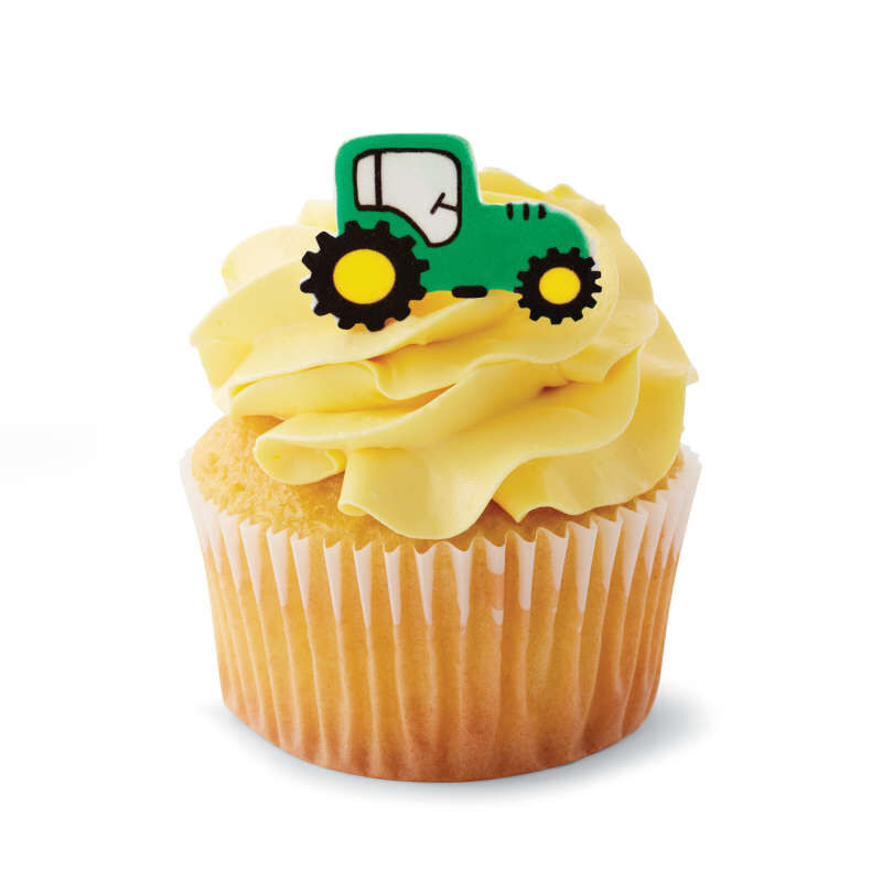 Truck Icing Decorations, 12-Count image number 3