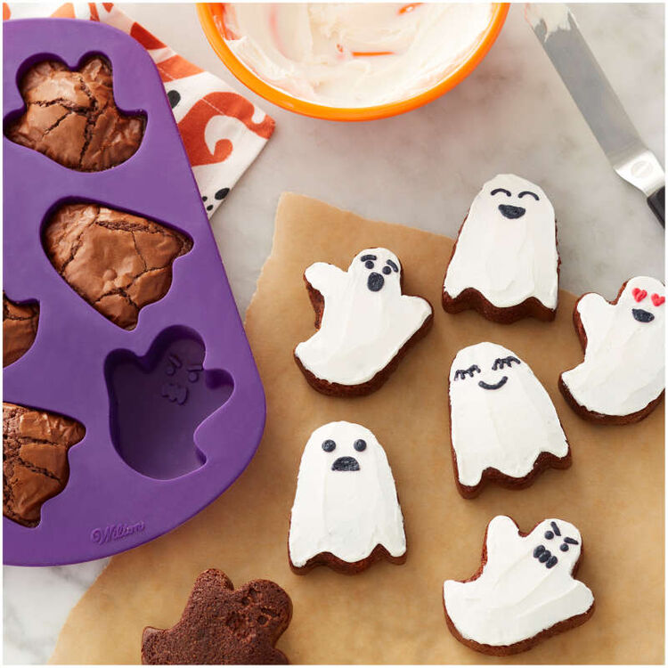 Ghost Silicone Mold, 6-Cavity