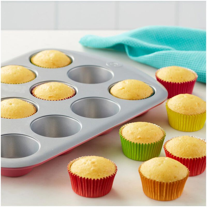 Rosanna Pansino by Non-Stick Muffin Pan, 12-Cup image number 3