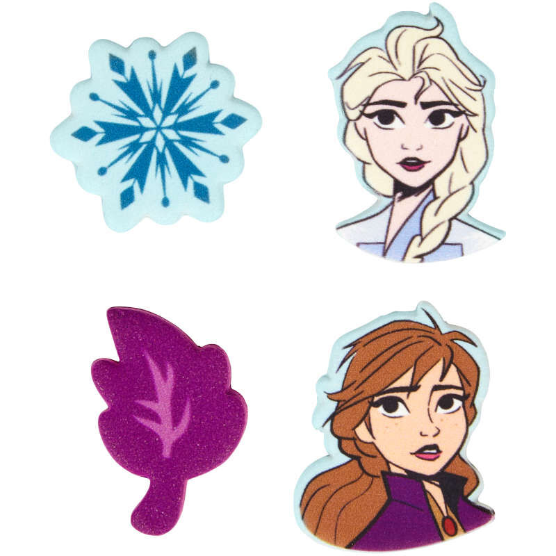 Disney Frozen 2 Candy Decorations Out of Packaging image number 0