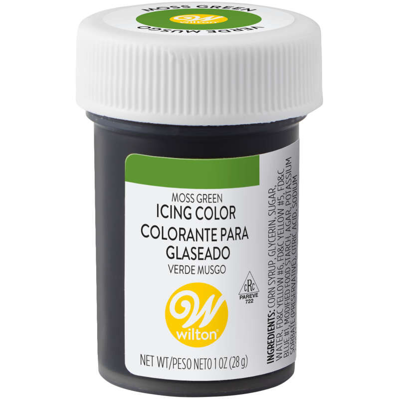 Moss Green Gel Food Coloring Icing Color image number 0