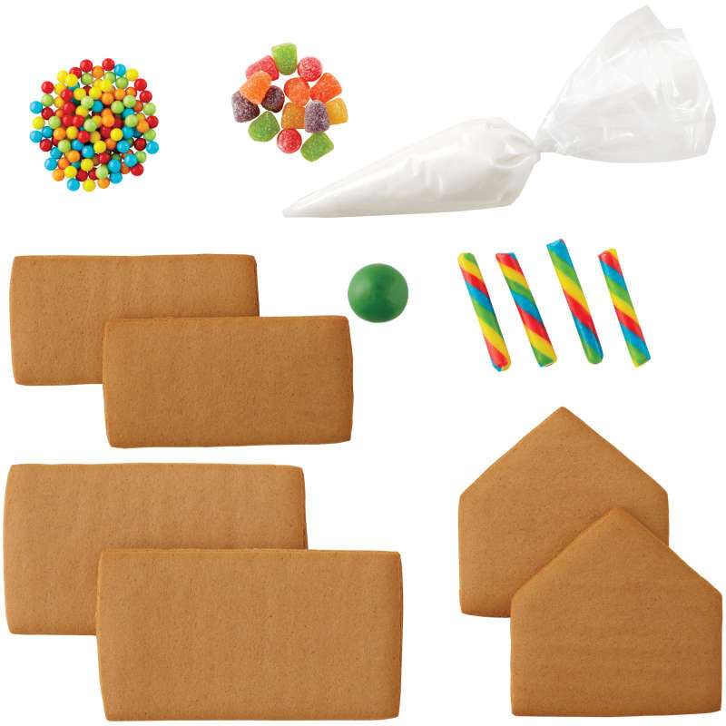 Build it Yourself Sweet & Petite Gingerbread House Decorating Kit image number 2