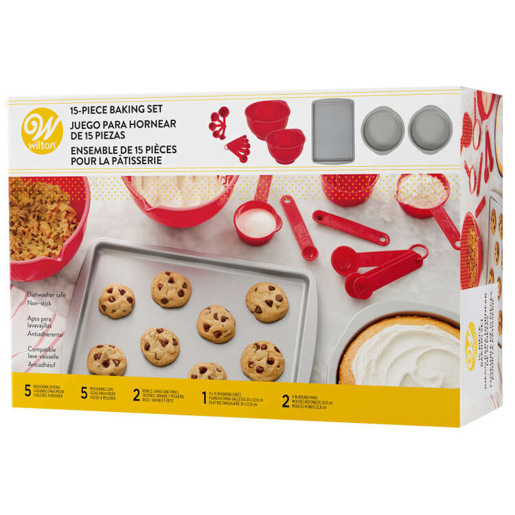 Non-Stick Baking Set, 15-Piece