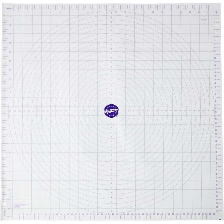 Measuring Mat out of packaging