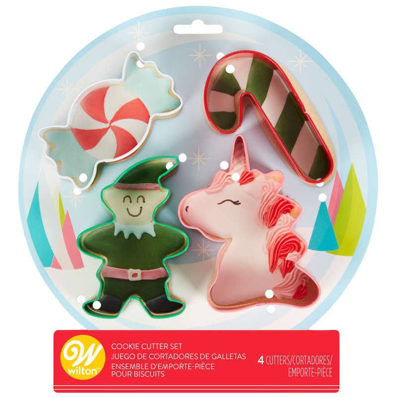 Winter Candyland Cookie Cutter Set, 4-Count image number 2