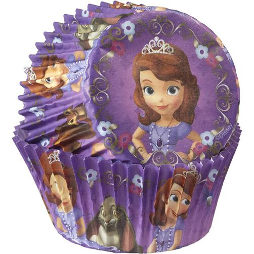 Sofia the First Cupcake Liners