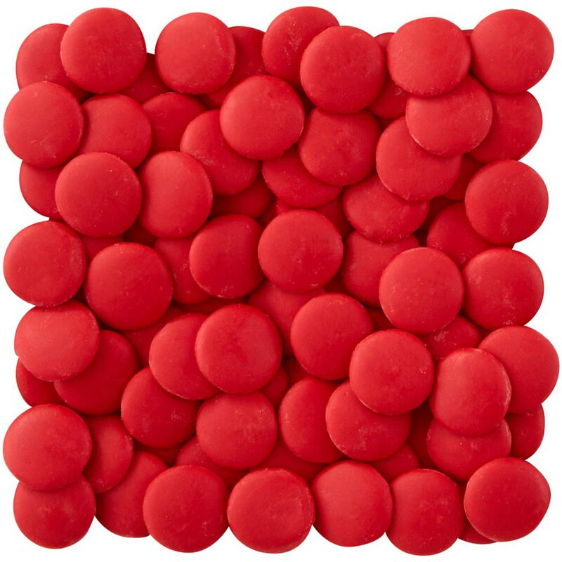 Red Candy Melts Candy Wafers image number 1