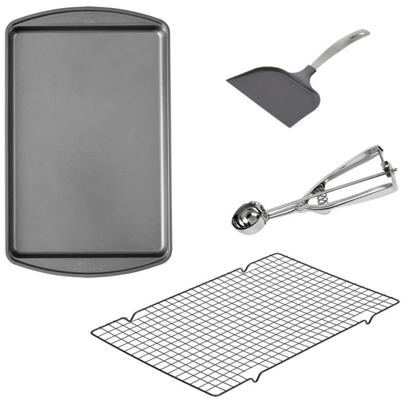 Cookie Baking Set, 4-Piece image number 0