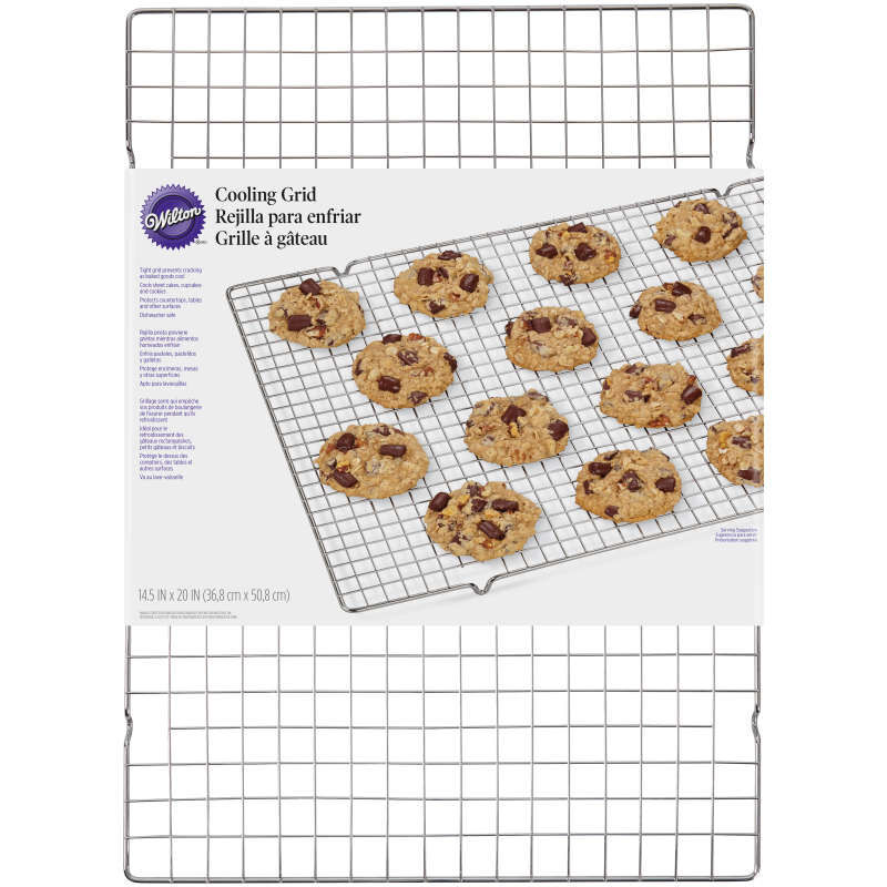 Chrome Plated Cooling Grid, 14.5 x 20 Inch image number 2