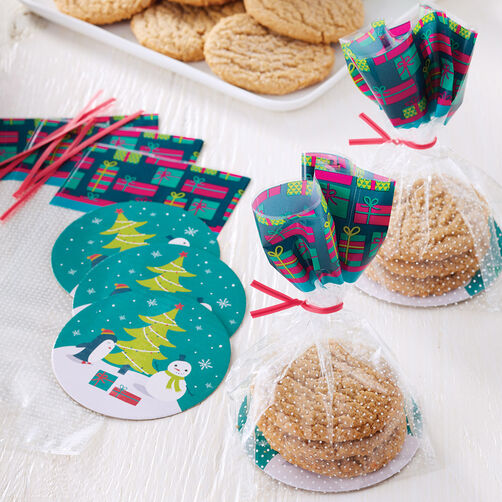 Snowman Cookie Plate Kit, 8-Count