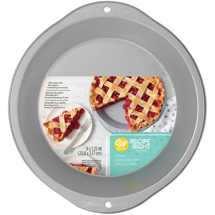 Recipe Right Pie Pan, 9 Inch