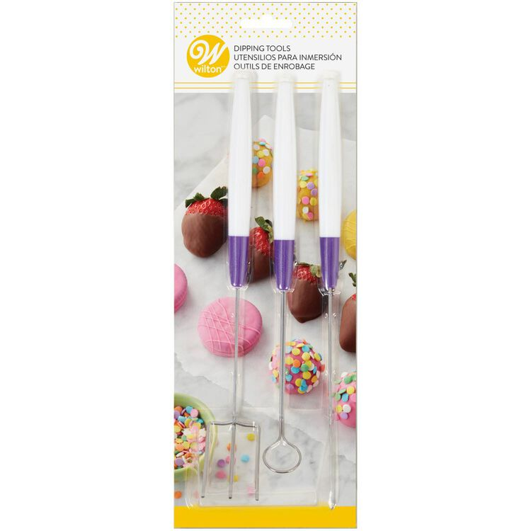 Candy Melts Candy Dipping Tool Set, 3-Piece