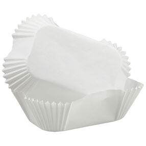 Wilton White Petite Loaf Baking Cups