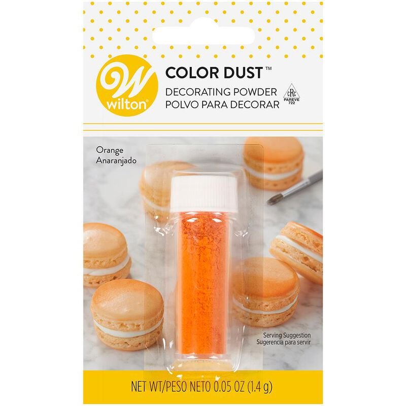 Orange Color Dust, 0.05 oz. image number 0
