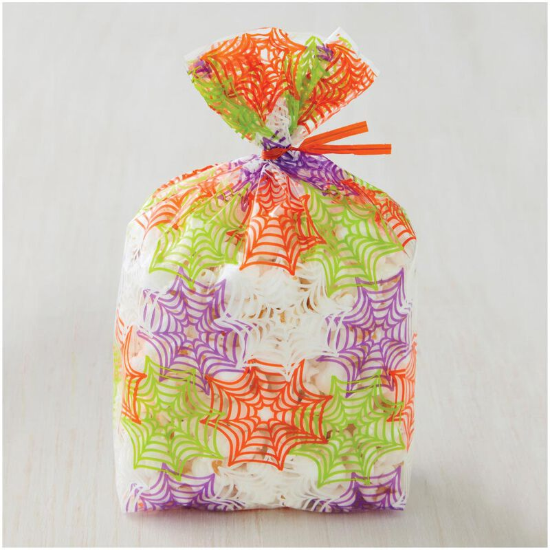 Spider Web Treat Bags, 20-Count image number 2