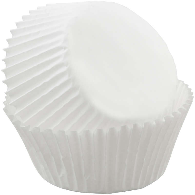 White Cupcake Liners, 75-Count image number 2