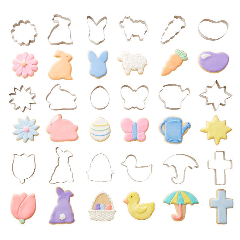 Easter Cookie Cutter Tub, 18-Count Set image number 3