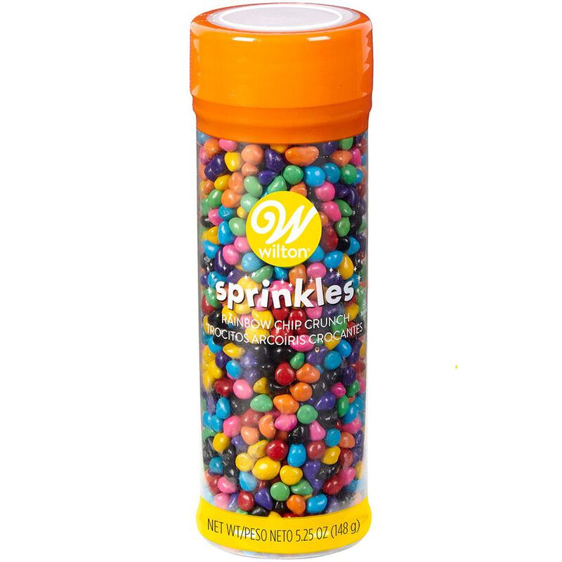 Rainbow Chip Crunch Sprinkles, 5.25 oz. image number 0