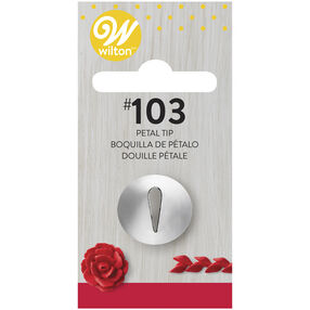 Wilton Decorating Tips - #103 Petal Piping Tip