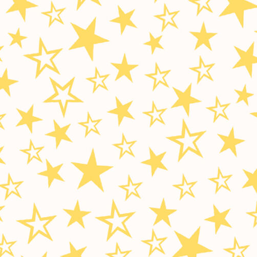 Yellow Stars Sugar Sheets Edible Decorating Paper | Wilton