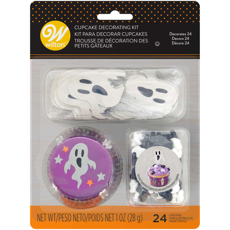 Halloween Ghost Cupcake Decorating Kit image number 2