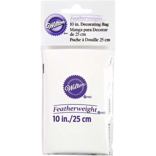 Wilton Decorating Bags 10 Inch Featherweight Piping Bag