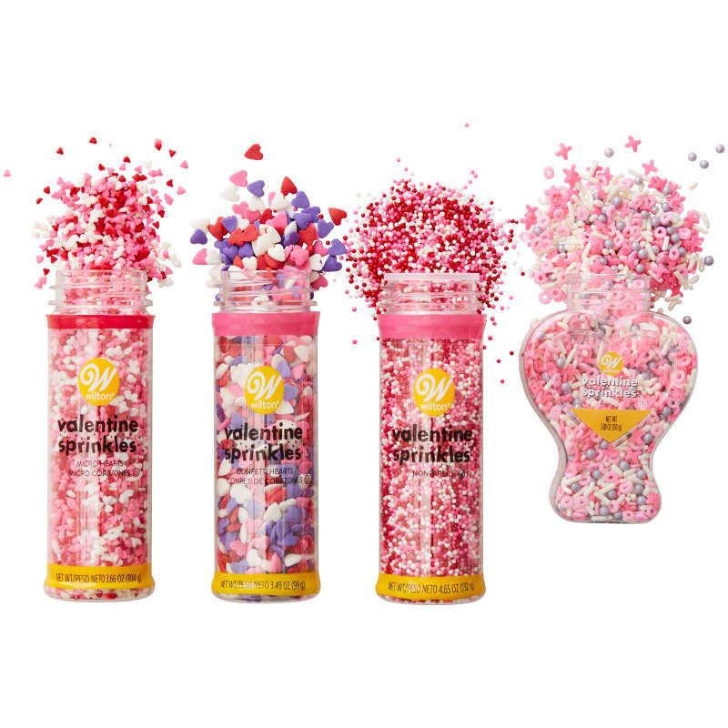 Valentine's Day Sprinkles Out of Packaging image number 3