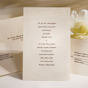 Loving Beginnings Invitation Kit (Ivory)