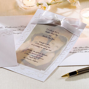 The Two Of Us Wedding Invitation Kit