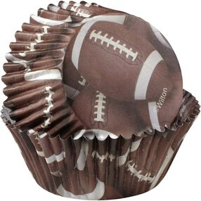 ColorCups Football Cupcake Liners
