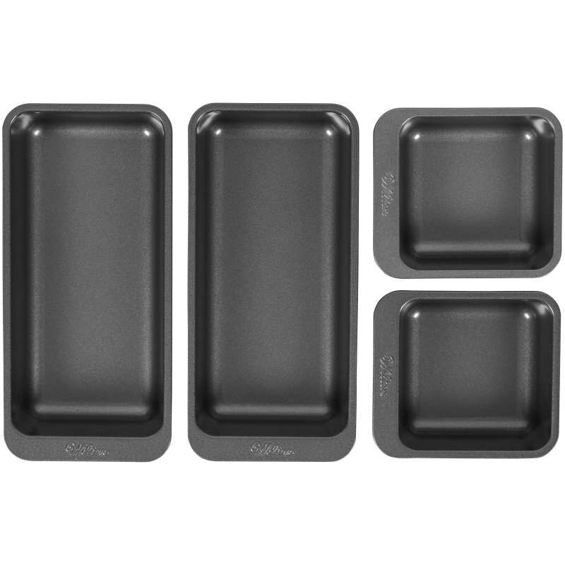 Perfect Results Square and Oblong Premium Non-Stick Baking Pan Set, 4-Piece image number 0