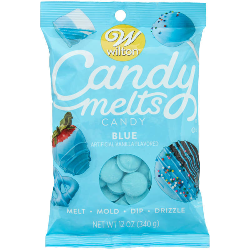 Blue Candy Melts Candy image number 0