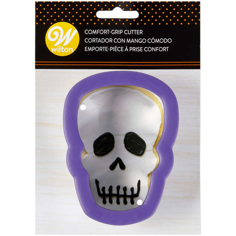 Skull Comfort-Grip Cookie Cutter image number 1