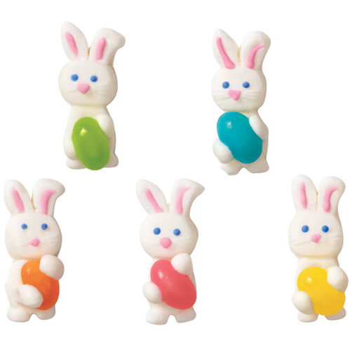 Bunny with Jellybean Royal Icing Decorations