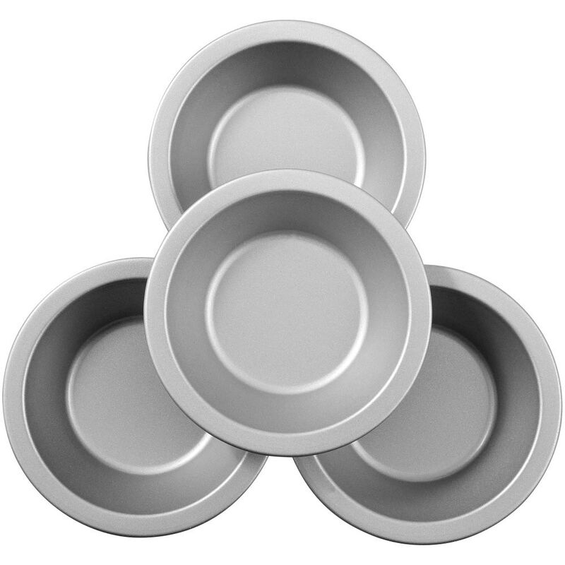 Bake and Bring Autumn Print Mini Non-Stick Pie Pans, 4-Count image number 2