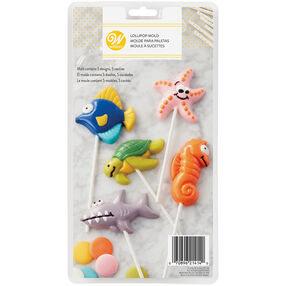 Sea Creatures Lollipop Molds
