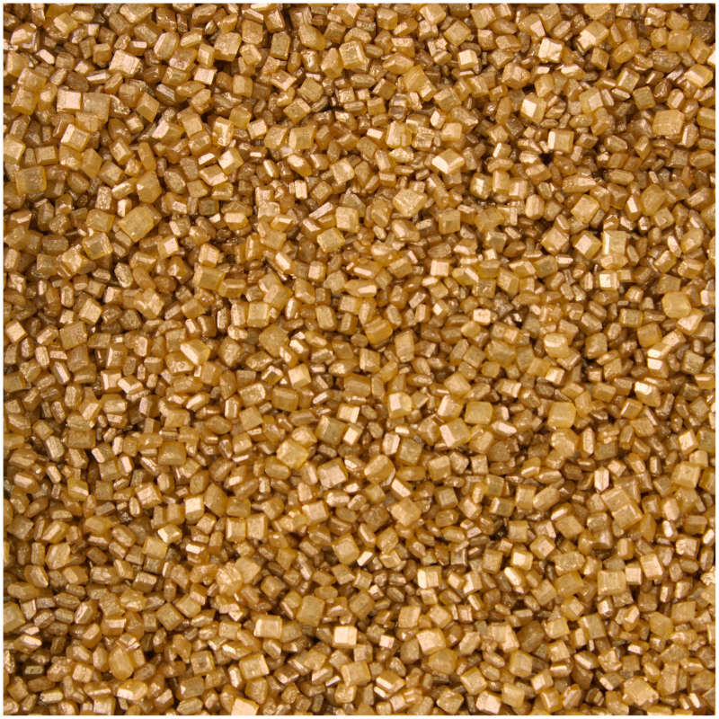 Gold Pearlized Sugar Sprinkles, 5.25 oz. image number 2