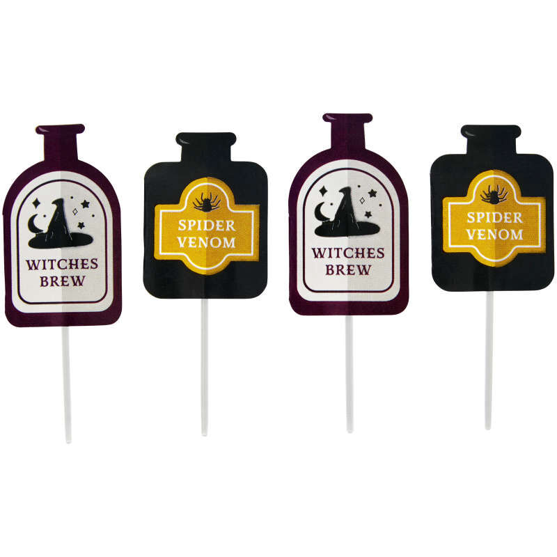Halloween Potions and Spells Cupcake Decorating Kit, 1 oz. image number 3
