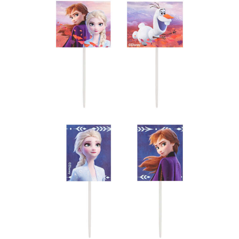 Disney Frozen 2 Cupcake Toppers, 24-Count image number 0