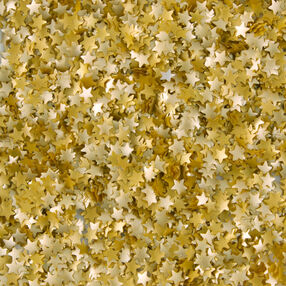Edible Glitter Gold Stars, 0.4 oz.
